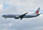 じーく。さんが、那覇空港で撮影した中国国際航空 737-808の航空フォト(飛行機 写真・画像)