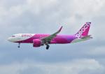 じーく。さんが、那覇空港で撮影したピーチ A320-214の航空フォト(飛行機 写真・画像)