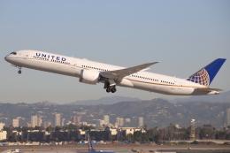 masa707さんが、ロサンゼルス国際空港で撮影したユナイテッド航空 787-10の航空フォト(飛行機 写真・画像)