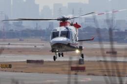 mild lifeさんが、伊丹空港で撮影した三井物産エアロスペース AW169の航空フォト(飛行機 写真・画像)