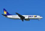 じーく。さんが、那覇空港で撮影したスカイマーク 737-8HXの航空フォト(飛行機 写真・画像)