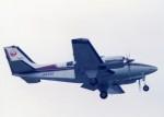 kumagorouさんが、仙台空港で撮影した日本航空 58 Baronの航空フォト(飛行機 写真・画像)