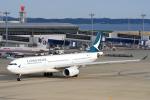 yabyanさんが、中部国際空港で撮影したキャセイパシフィック航空 A330-342の航空フォト(飛行機 写真・画像)