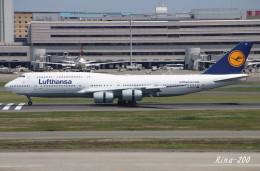 RINA-281さんが、羽田空港で撮影したルフトハンザドイツ航空 747-830の航空フォト(飛行機 写真・画像)