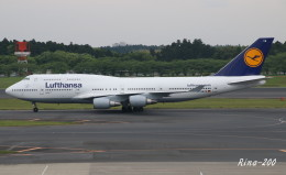 RINA-281さんが、成田国際空港で撮影したルフトハンザドイツ航空 747-430の航空フォト(飛行機 写真・画像)