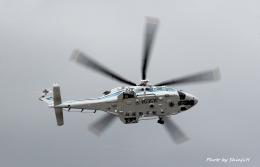碇シンジさんが、米子空港で撮影した海上保安庁 AW139の航空フォト(飛行機 写真・画像)