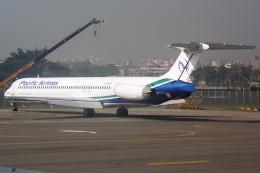 Hariboさんが、高雄国際空港で撮影したパシフィック・エアラインズ (〜2008/5) MD-82 (DC-9-82)の航空フォト(飛行機 写真・画像)