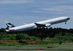 じーく。さんが、成田国際空港で撮影したキャセイパシフィック航空 777-367の航空フォト(飛行機 写真・画像)