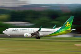 K.Sさんが、成田国際空港で撮影した春秋航空日本 737-81Dの航空フォト(飛行機 写真・画像)