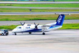 まいけるさんが、伊丹空港で撮影したANAウイングス DHC-8-314Q Dash 8の航空フォト(飛行機 写真・画像)