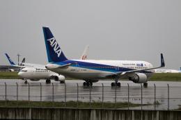 スカイチームKMJ ももこさんが、羽田空港で撮影した全日空 767-381/ERの航空フォト(飛行機 写真・画像)