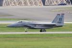 yabyanさんが、嘉手納飛行場で撮影したアメリカ空軍 F-15C-40-MC Eagleの航空フォト(飛行機 写真・画像)