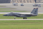 yabyanさんが、嘉手納飛行場で撮影したアメリカ空軍 F-15C-31-MC Eagleの航空フォト(飛行機 写真・画像)