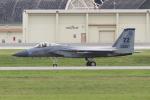 yabyanさんが、嘉手納飛行場で撮影したアメリカ空軍 F-15C-27-MC Eagleの航空フォト(飛行機 写真・画像)