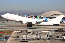 masa707さんが、ロサンゼルス国際空港で撮影したアトラス航空 747-4B5F/ER/SCDの航空フォト(飛行機 写真・画像)