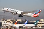 masa707さんが、ロサンゼルス国際空港で撮影したアメリカン航空 787-9の航空フォト(飛行機 写真・画像)
