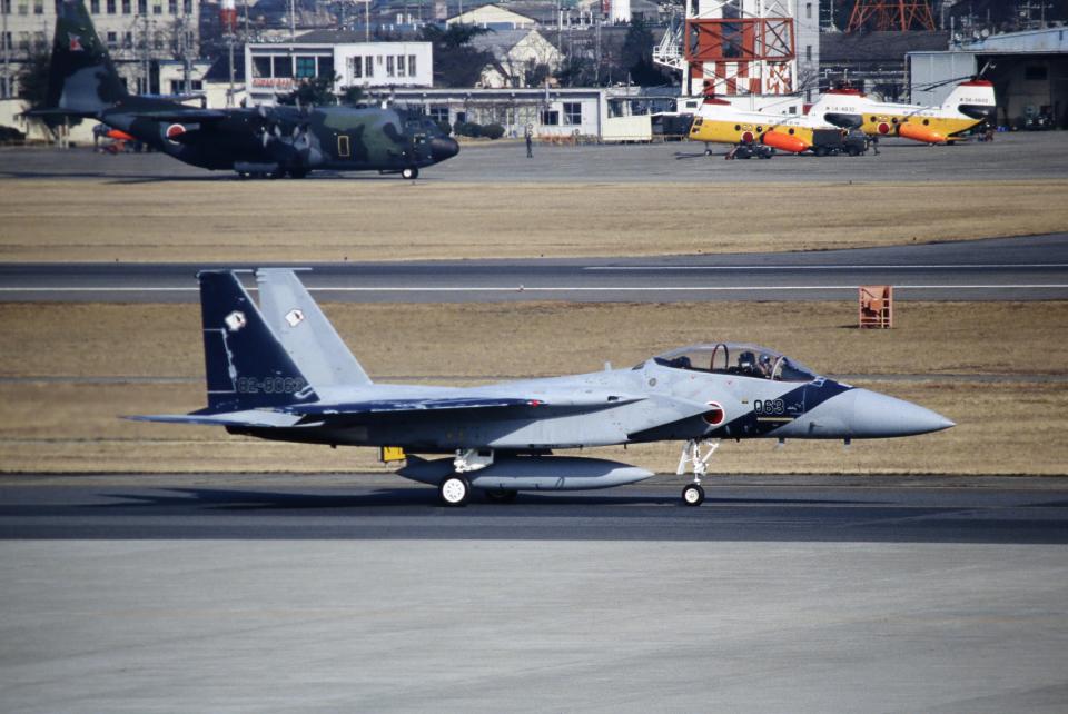 なごやんさんの航空自衛隊 Mitsubishi F-15DJ Eagle (82-8063) 航空フォト