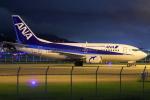 masa707さんが、福岡空港で撮影したANAウイングス 737-54Kの航空フォト(飛行機 写真・画像)