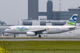 mameshibaさんが、成田国際空港で撮影したスカイ・アンコール・エアラインズ A320-231の航空フォト(飛行機 写真・画像)
