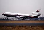 なごやんさんが、名古屋飛行場で撮影したマレーシア航空 DC-10-30の航空フォト(飛行機 写真・画像)