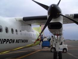 Yoshinoriさんが、札幌飛行場で撮影したエアーニッポンネットワーク DHC-8-314Q Dash 8の航空フォト(飛行機 写真・画像)