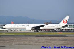 れんしさんが、福岡空港で撮影した日本航空 777-346/ERの航空フォト(飛行機 写真・画像)