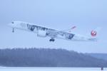 採れたてほしいもさんが、新千歳空港で撮影した日本航空 A350-941の航空フォト(飛行機 写真・画像)