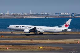 ぱん_くまさんが、羽田空港で撮影した日本航空 777-346/ERの航空フォト(飛行機 写真・画像)