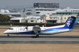 NIKEさんが、伊丹空港で撮影したANAウイングス DHC-8-314Q Dash 8の航空フォト(飛行機 写真・画像)