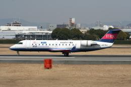 NIKEさんが、伊丹空港で撮影したアイベックスエアラインズ CL-600-2B19 Regional Jet CRJ-100LRの航空フォト(飛行機 写真・画像)
