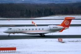 採れたてほしいもさんが、新千歳空港で撮影したアメリカ個人所有 G650ER (G-VI)の航空フォト(飛行機 写真・画像)