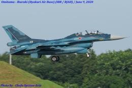 Chofu Spotter Ariaさんが、茨城空港で撮影した航空自衛隊 F-2Bの航空フォト(飛行機 写真・画像)