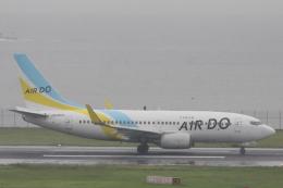 小牛田薫さんが、羽田空港で撮影したAIR DO 737-781の航空フォト(飛行機 写真・画像)