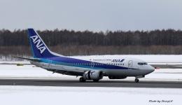 碇シンジさんが、新千歳空港で撮影したANAウイングス 737-54Kの航空フォト(飛行機 写真・画像)