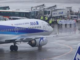 蒲田っ子さんが、羽田空港で撮影したANAウイングス 737-54Kの航空フォト(飛行機 写真・画像)