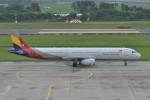 kumagorouさんが、仙台空港で撮影したアシアナ航空 A321-231の航空フォト(飛行機 写真・画像)