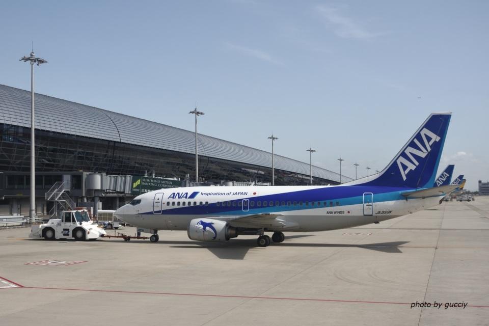 gucciyさんのANAウイングス Boeing 737-500 (JA359K) 航空フォト
