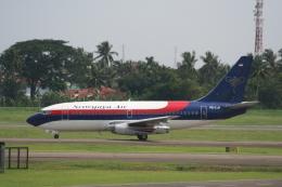 NIKEさんが、スカルノハッタ国際空港で撮影したスリウィジャヤ航空 737-2B7/Advの航空フォト(飛行機 写真・画像)