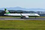 Gambardierさんが、岡山空港で撮影したエバー航空 A321-211の航空フォト(飛行機 写真・画像)