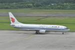 kumagorouさんが、仙台空港で撮影した中国国際航空 737-8Q8の航空フォト(飛行機 写真・画像)