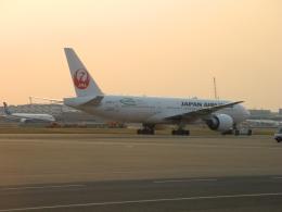 ぶるーすかいさんが、羽田空港で撮影した日本航空 777-246/ERの航空フォト(飛行機 写真・画像)