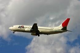 にしやんさんが、函館空港で撮影したJALエクスプレス 737-446の航空フォト(飛行機 写真・画像)