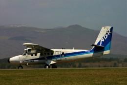 にしやんさんが、函館空港で撮影したエアー北海道 DHC-6-300 Twin Otterの航空フォト(飛行機 写真・画像)