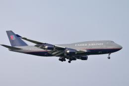 senyoさんが、成田国際空港で撮影したユナイテッド航空 747-422の航空フォト(飛行機 写真・画像)