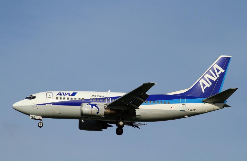 shibu03さんのANAウイングス Boeing 737-500 (JA353K) 航空フォト