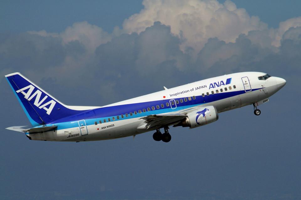 shibu03さんのANAウイングス Boeing 737-500 (JA8596) 航空フォト