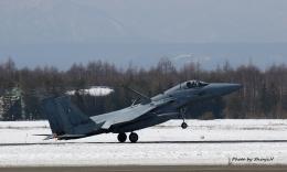 碇シンジさんが、千歳基地で撮影した航空自衛隊 F-15J Eagleの航空フォト(飛行機 写真・画像)