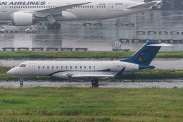 みぐさんが、羽田空港で撮影したOジェッツ BD-700-1A10 Global 6000の航空フォト(飛行機 写真・画像)