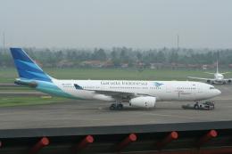 NIKEさんが、スカルノハッタ国際空港で撮影したガルーダ・インドネシア航空 A330-243の航空フォト(飛行機 写真・画像)