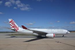 安芸あすかさんが、メルボルン空港で撮影したヴァージン・オーストラリア A330-243の航空フォト(飛行機 写真・画像)